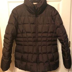 Calvin Klein Brown Puffer Winter Coat Jacket